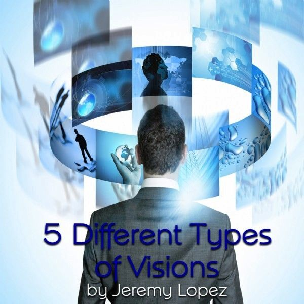 5 Different Types of Visions (teaching CD) by Jeremy Lopez