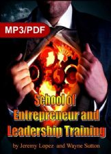 School of Entrepreneur and Leadership Training (USB drive) by Jeremy Lopez and Wayne Sutton