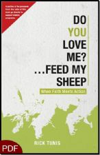 Do You Love Me?...Feed My Sheep: When Faith Meets Action (E-Book-PDF Download)  by Rick Tunis