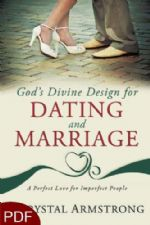 God's Divine Design for Dating and Marriage: A Perfect Love for Imperfect People (E-Book-PDF Download) by Chrystal Armstrong
