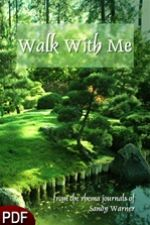 Walk With Me (E-Book Download) by Sandy Warner